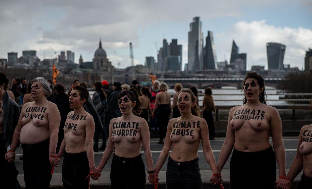 International Women's Day March in London (27 Photos)