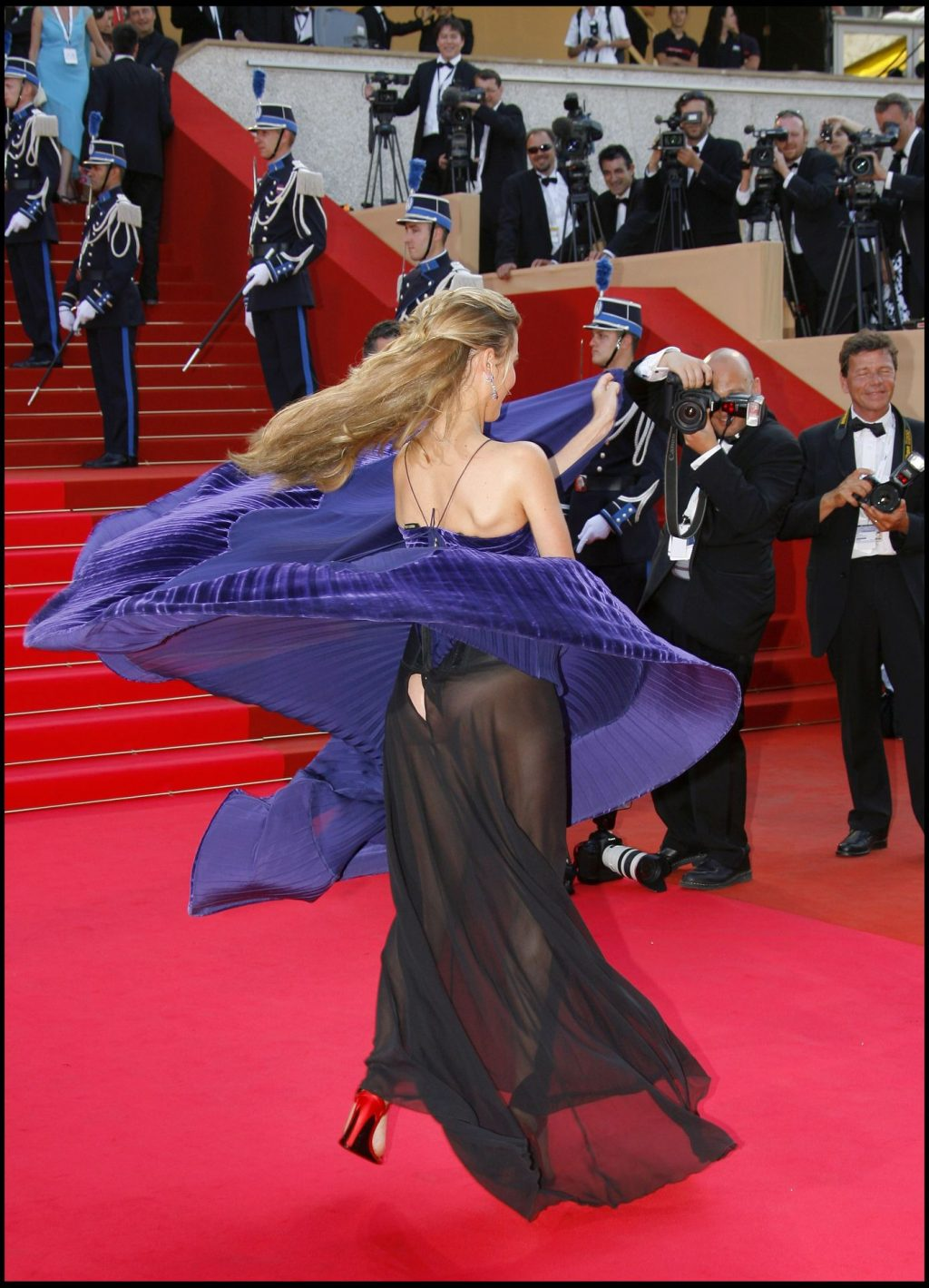 Vahina Giocante Shows Her Panties in Cannes (1 Photo)