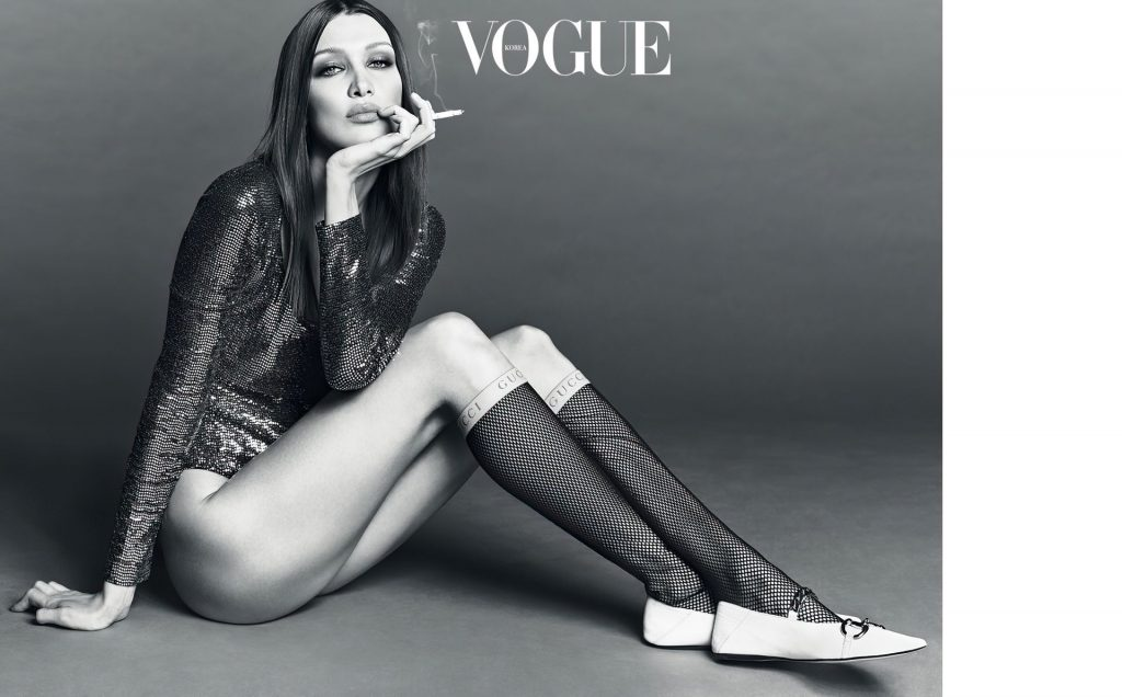 Bella Hadid Stuns in Vogue's April Issue (21 Photos)