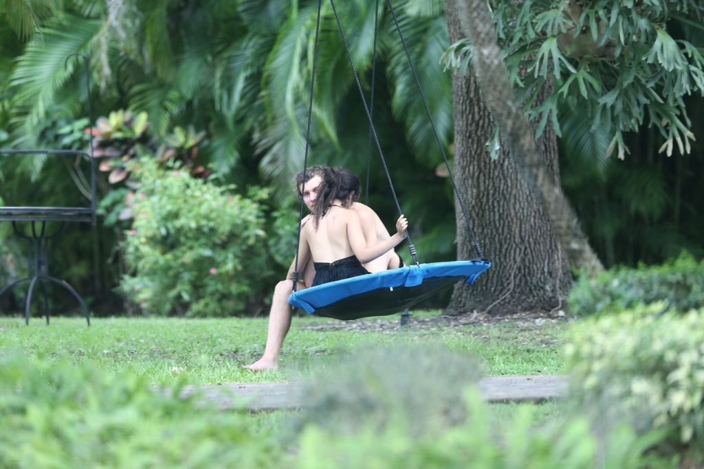 Shawn Mendes & Camila Cabello Are Having a Romantic Time on a Swing (26 Photos)