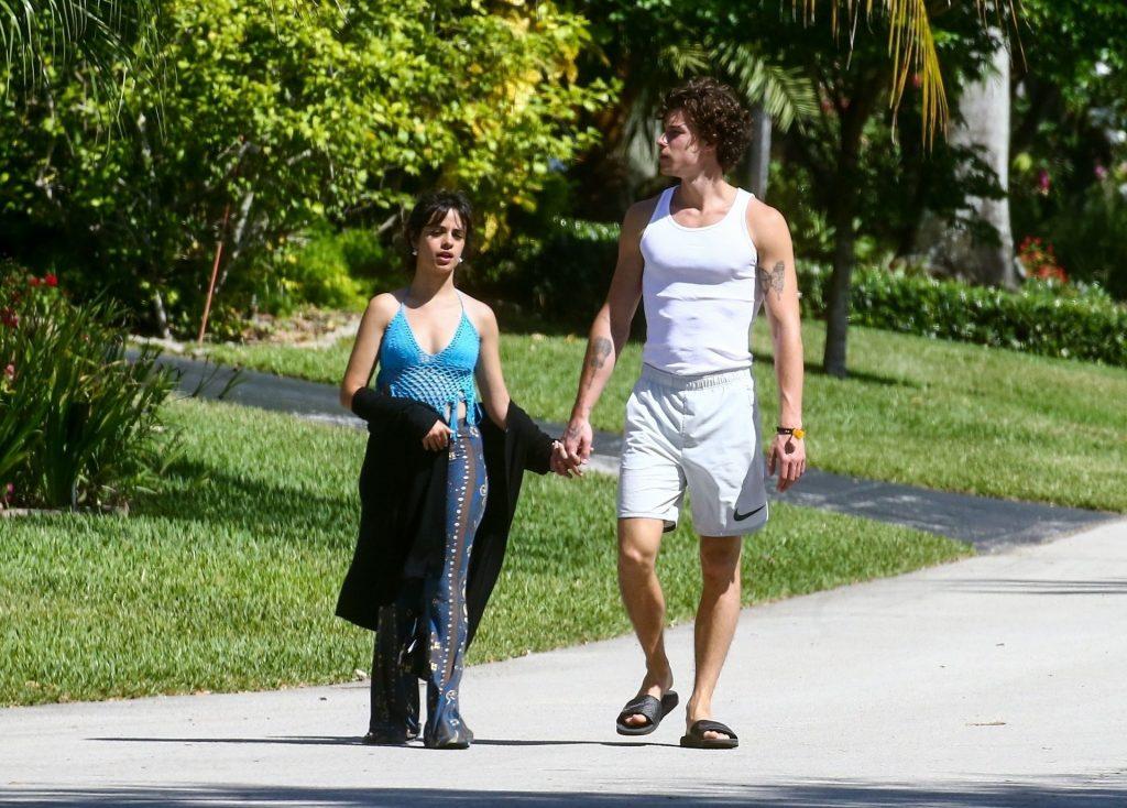 Camila Cabello & Shawn Mendes Take a Morning Walk (49 Photos)
