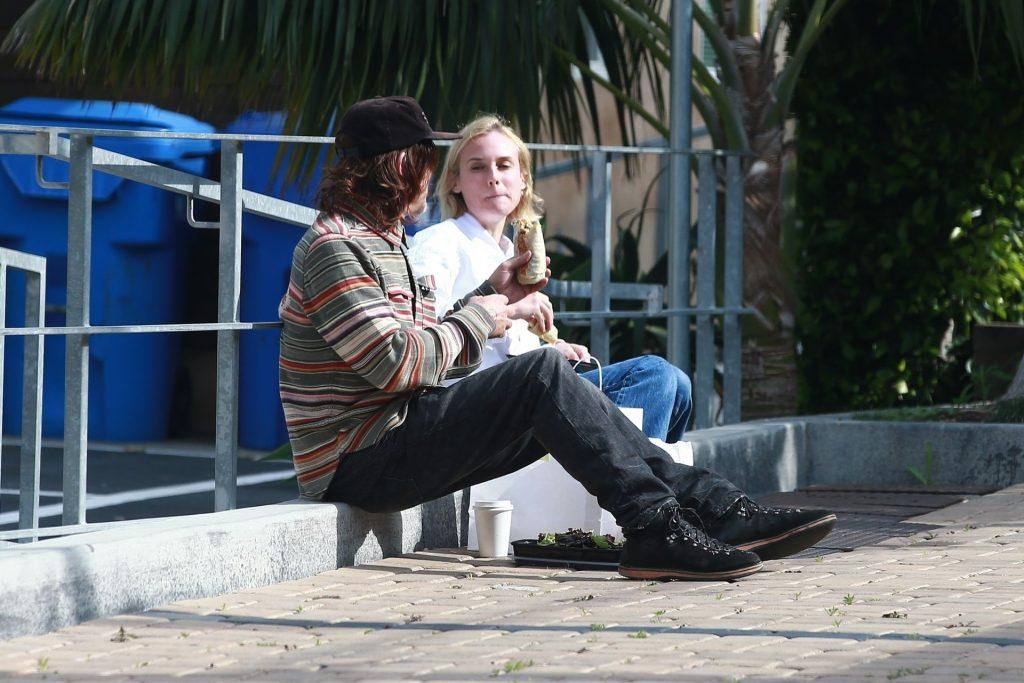 Diane Kruger & Norman Reedus Put on a Sweet PDA Display in Malibu (17 Photos)