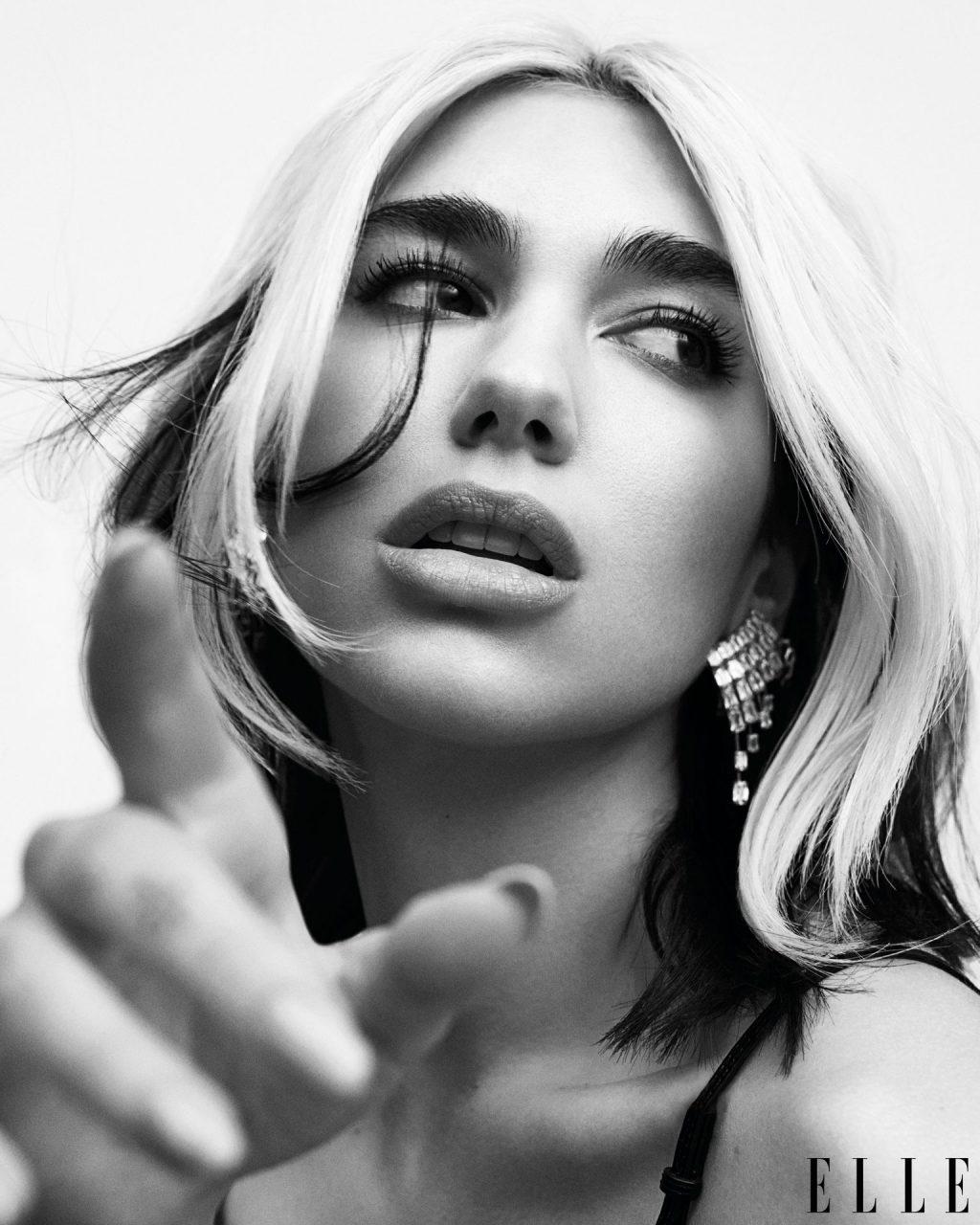 Dua Lipa Sexy – ELLE Magazine (13 Photos)