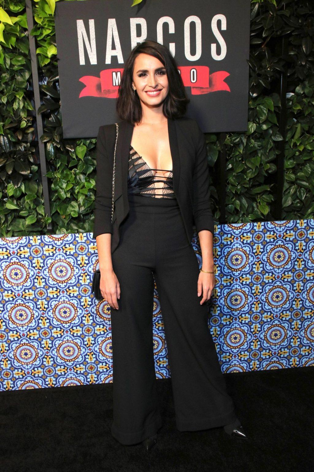 Fernanda Urrejola's Tits at the Narcos Season 2 Premiere (46 Photos)