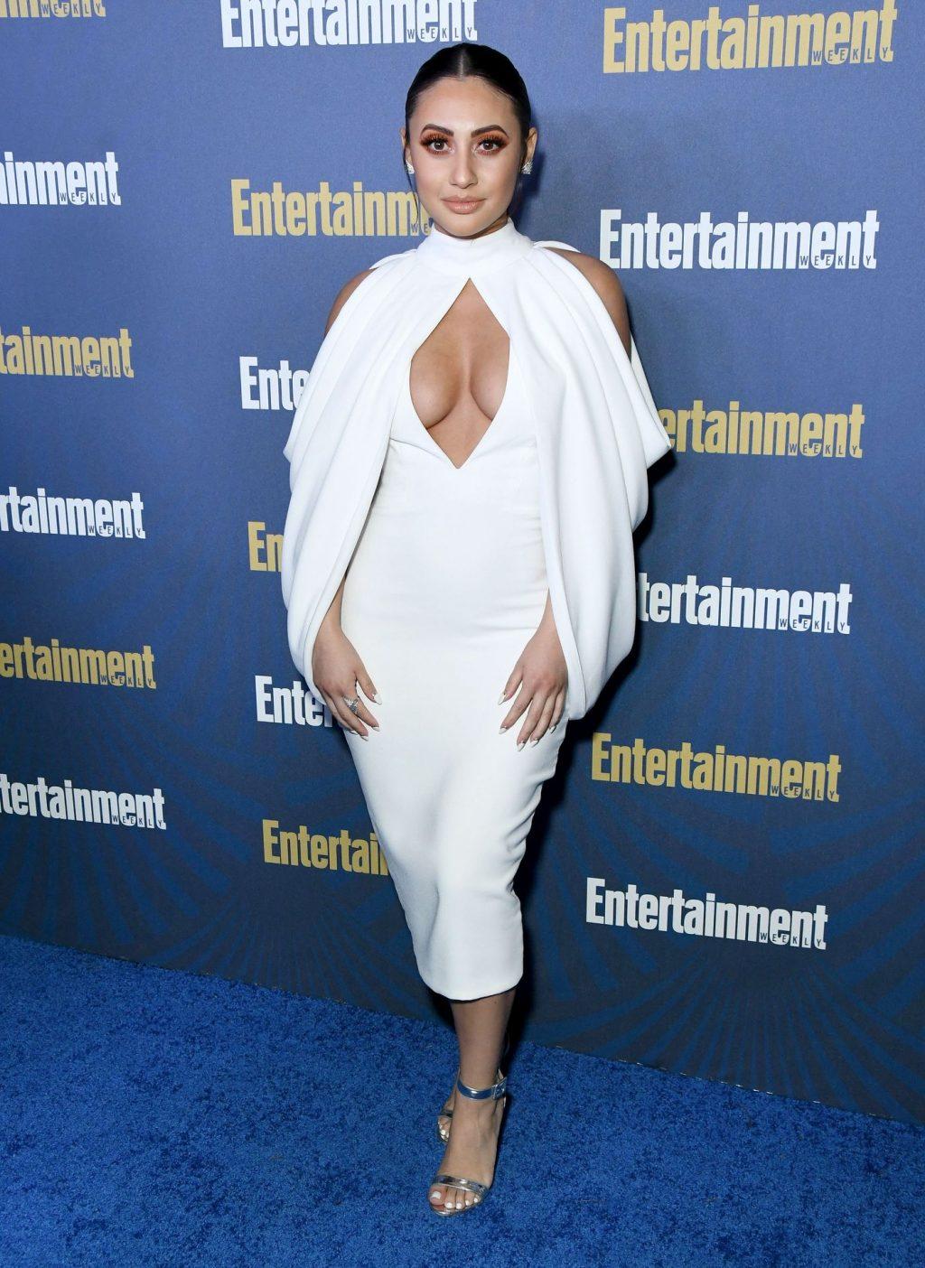 Francia Raisa's Big Boobs at the Pre-SAG Party (19 Photos)
