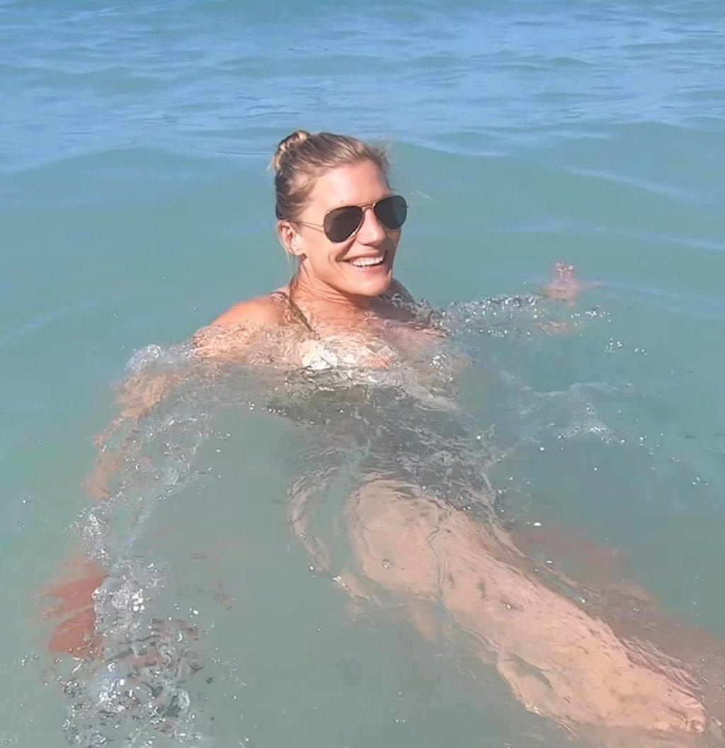 Katee Sackhoff Nip Slip (6 Pics + GIF)
