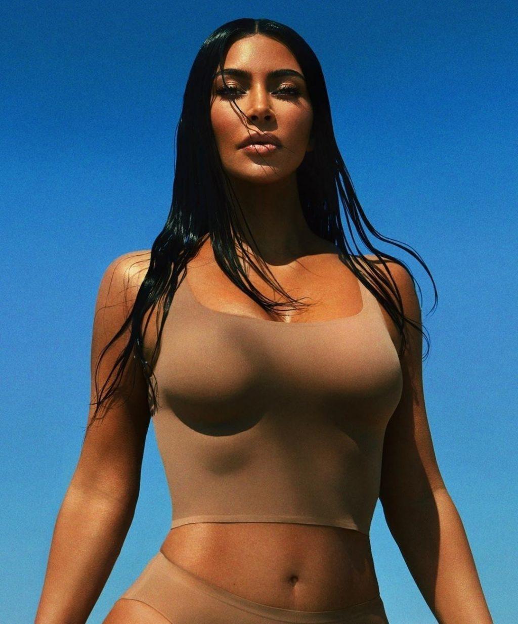 Kim Kardashian Unveils New Skim Collection (10 Photos)
