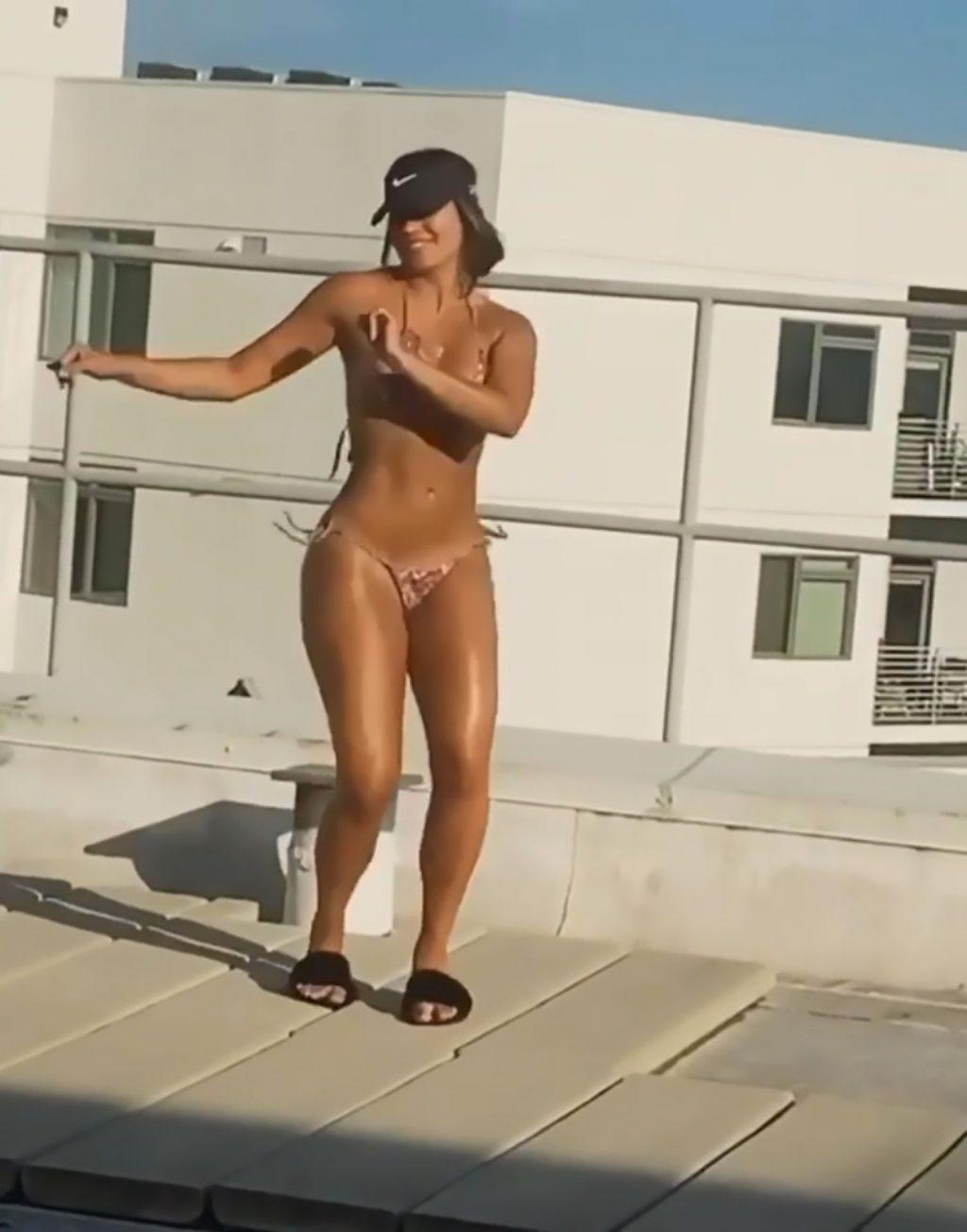 Lele Pons Dances Salsa on the Roof (12 Pics + Video)