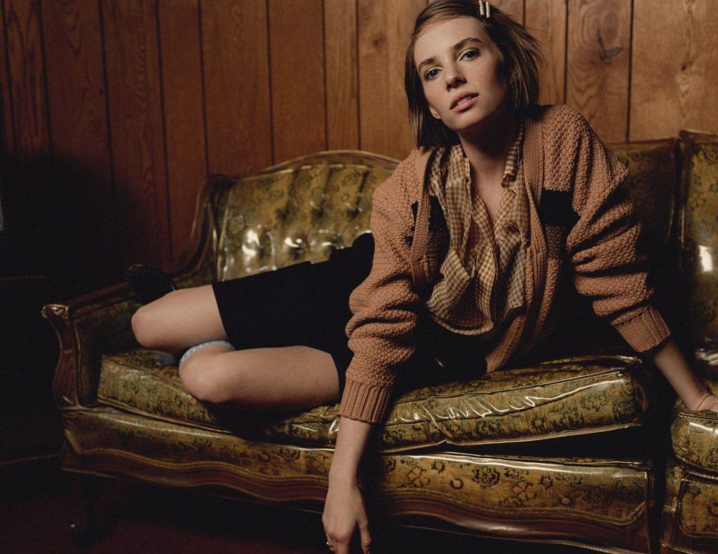 Maya Hawke See Through & Sexy – Nylon (8 Photos)
