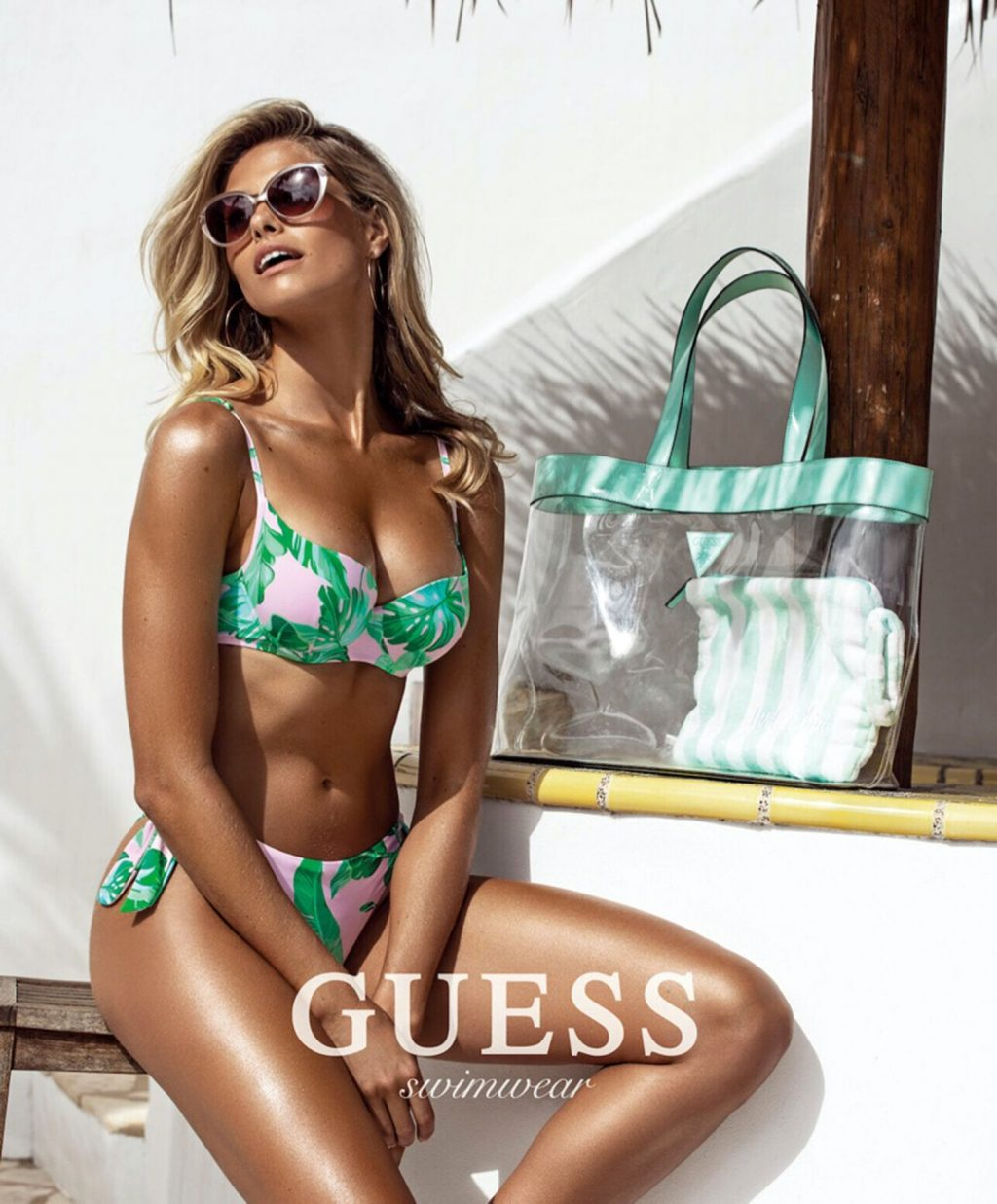 Natalie Roser & Elizabeth Turner Pose for Guess Swimwear and Lingerie Campaign (11 Photos)
