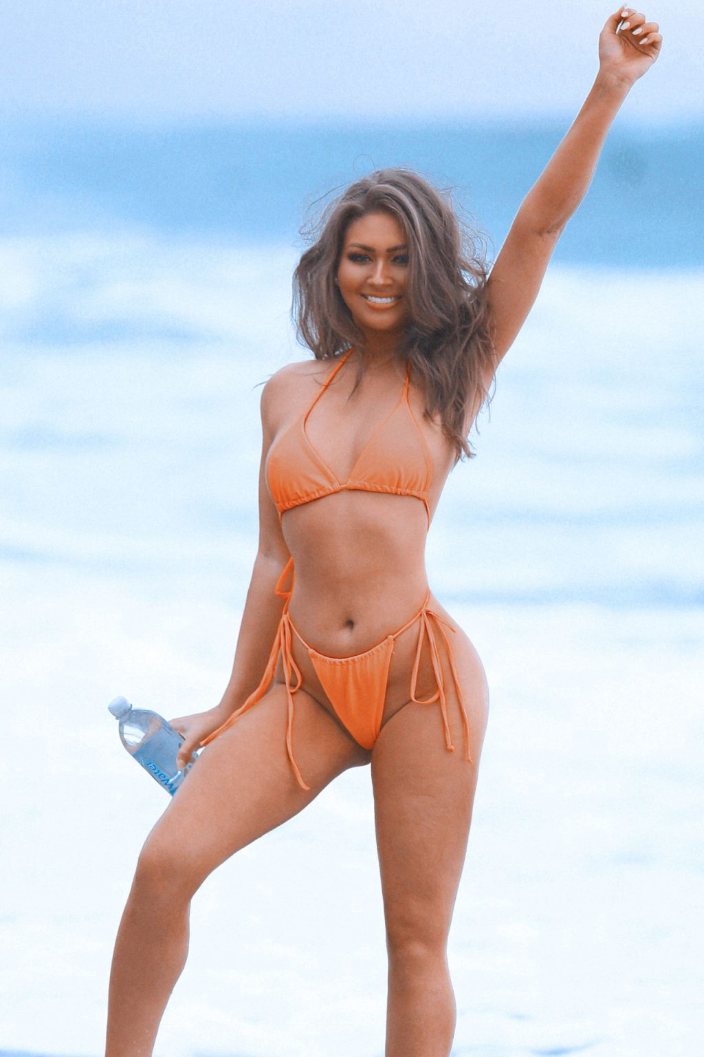 Paula Kalini Shows Off Her Curvy Beach Body in a Photoshoot in Malibu (48 Photos)