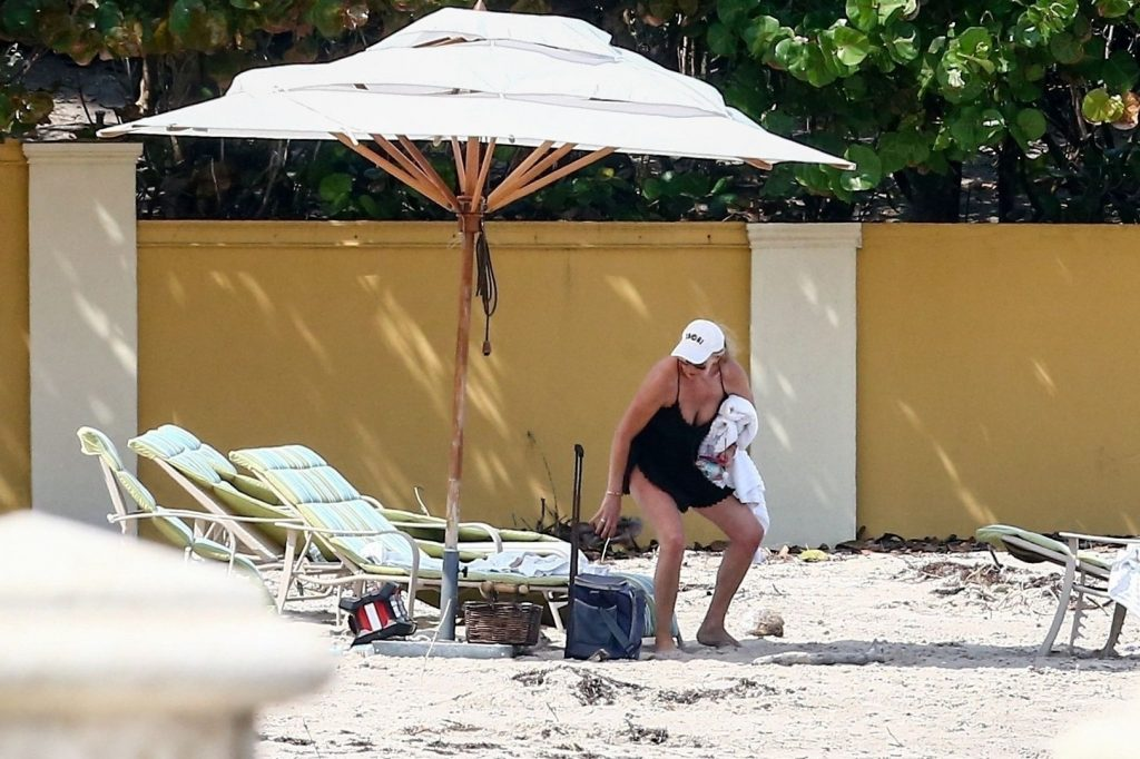 Penny Lancaster Gets a Little Beach Time Outside of Quarantine (16 Photos)
