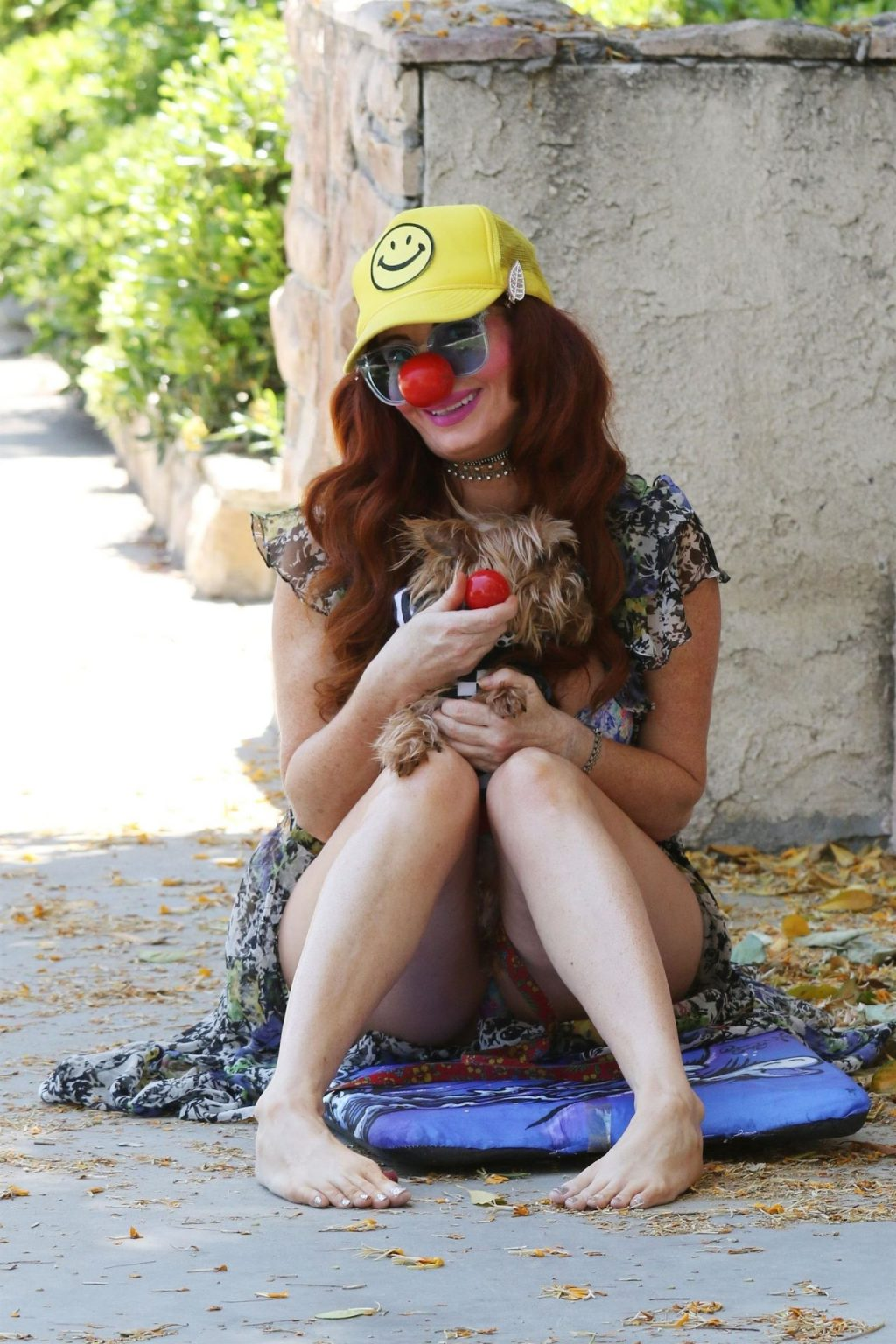 Phoebe Price Celebrates Red Nose Day (48 Photos)