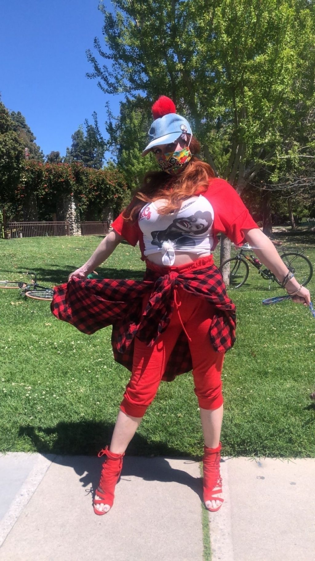Phoebe Price Has a Collection of COVID-19 Personalized Masks (20 Photos)