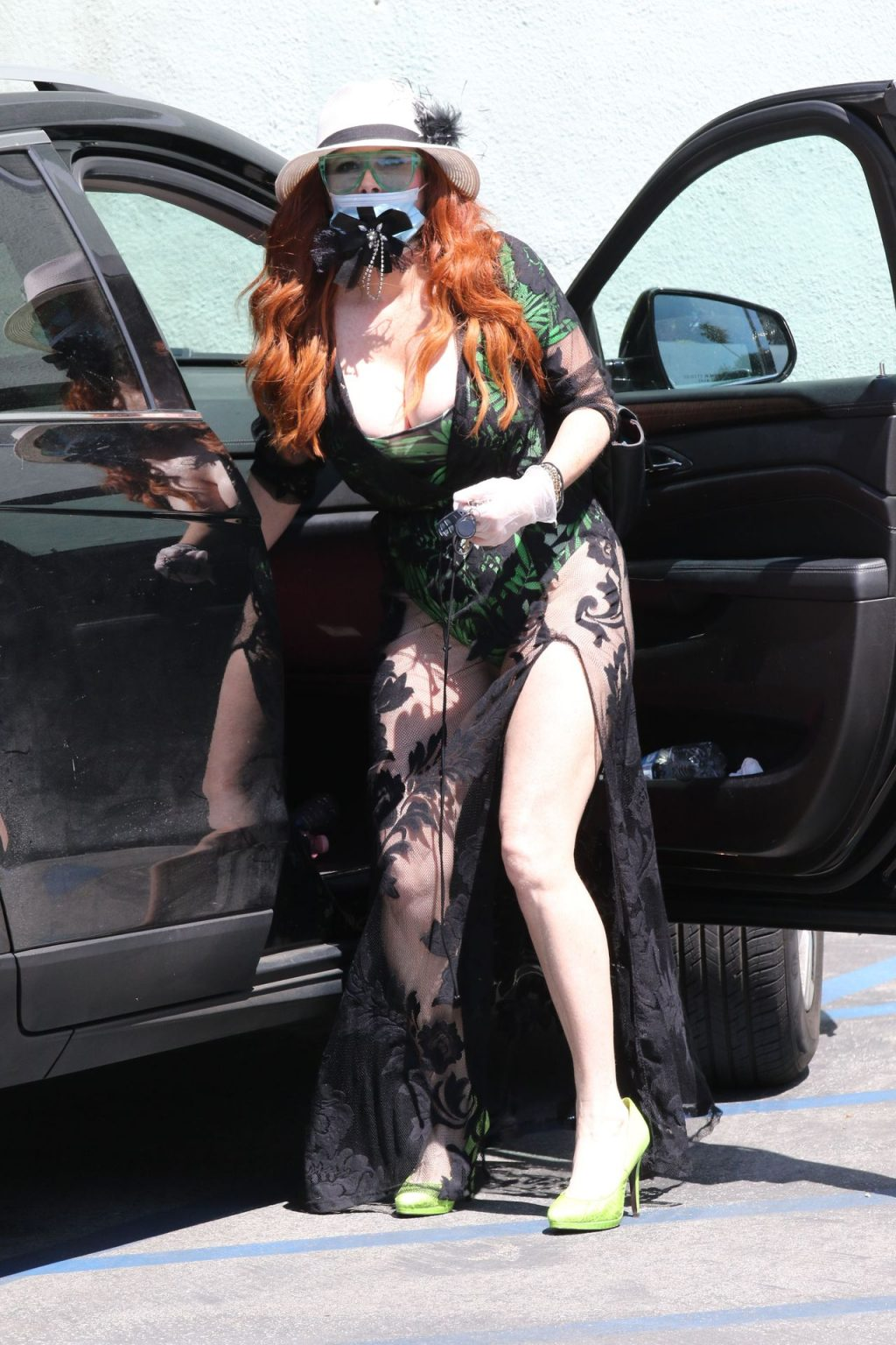 Phoebe Price is in a See-Through Dress Running Errands (36 Photos)