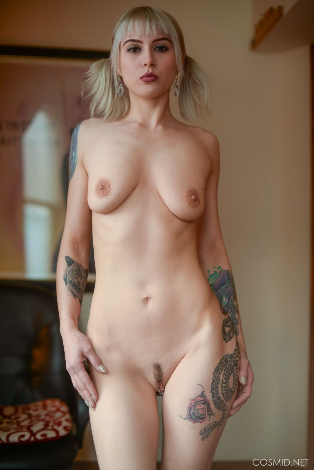 Romany Duero Nude – Couch Session (127 Photos)