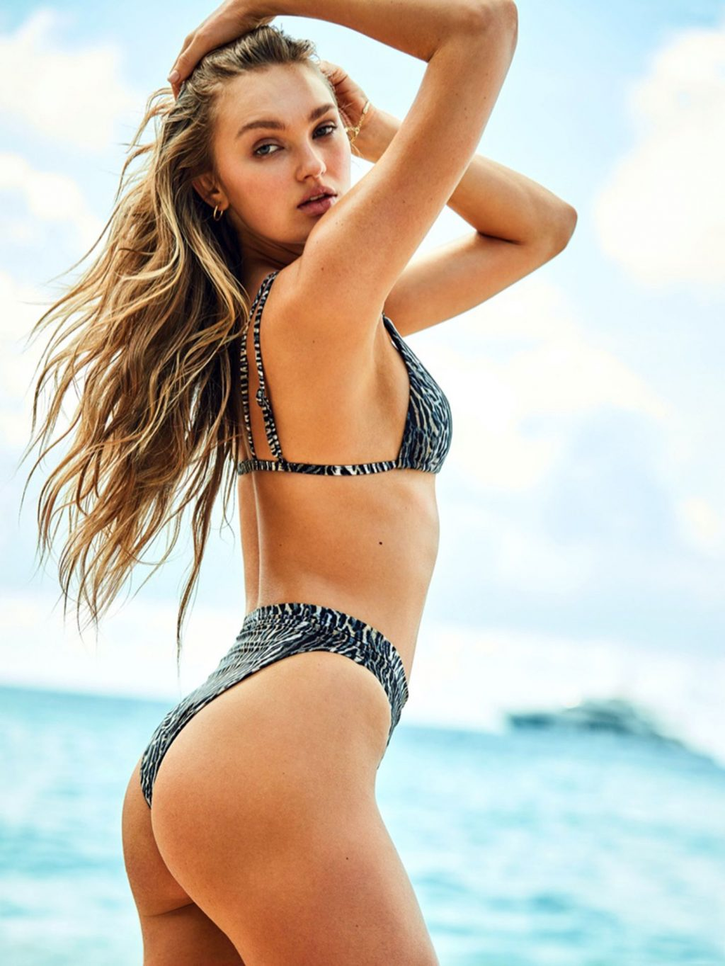 Romee Stridj Poses for Victoria's Secret Brand's New Swimwear Campaign (11 Photos)