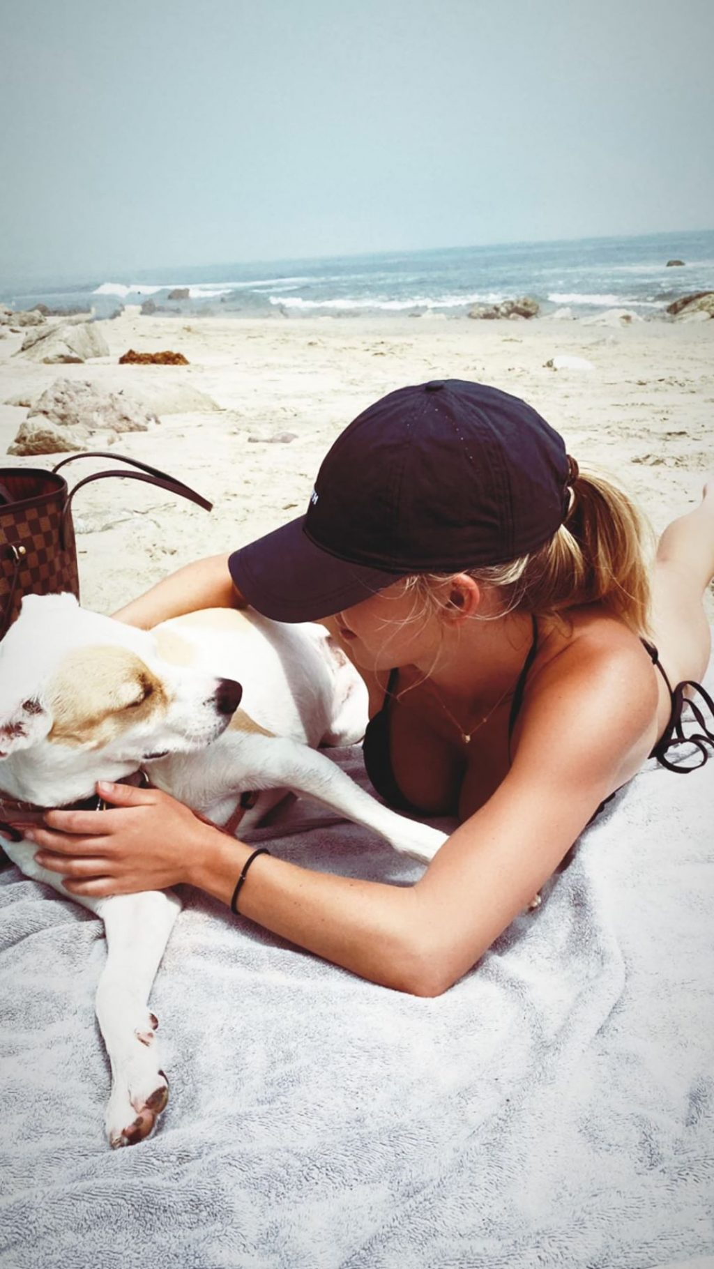 Sydney Sweeney Shows Her Boobs on the Beach (10 Photos + Video)