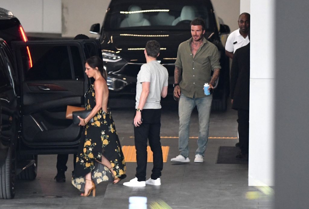 Victoria Beckham Wears a Backless Dress As She Goes Luxury Apartment Hunting in Miami (31 Photos)