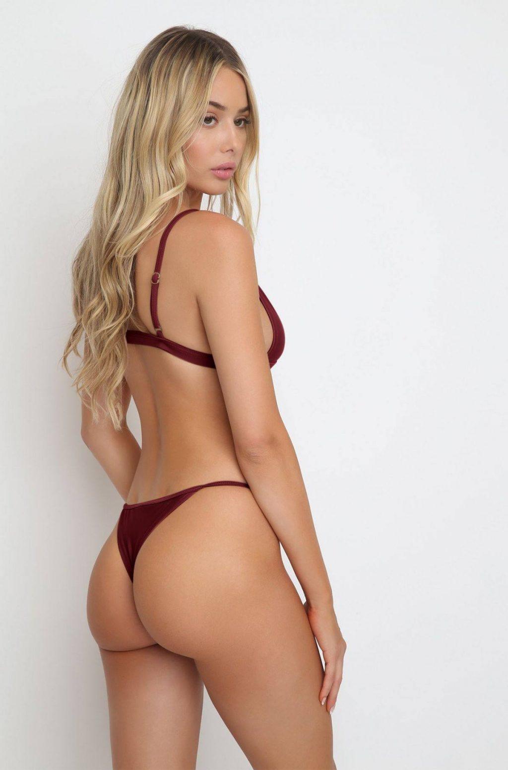 Celeste Bright Poses in Bikinis for Ishine365 Swimwear Collection (68 Photos)