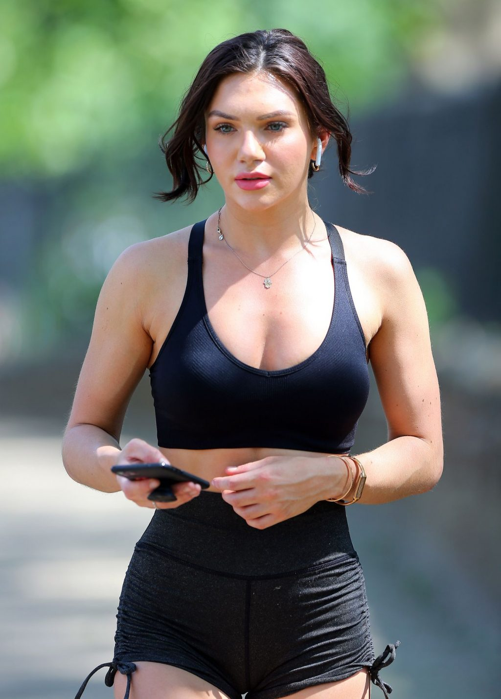 Alexandra Cane Shows Off Her Fit Body In London (14 Photos)