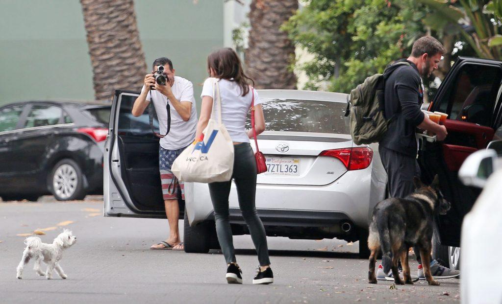 Sexy Ana de Armas & Ben Affleck are Seen in Los Angeles (14 Photos)