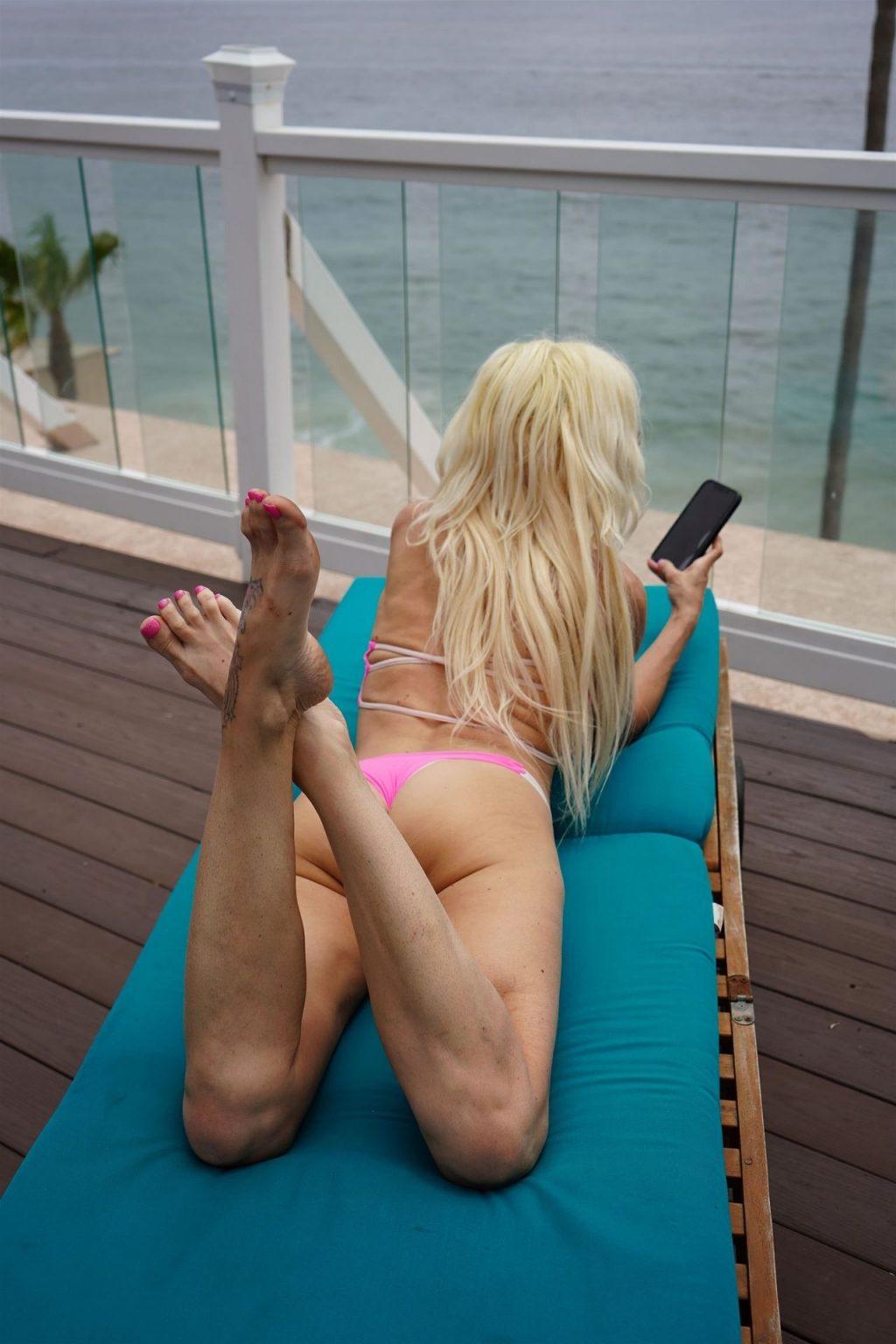 Angelique Morgan Gets Some Sun in a Pink Bikini (46 Photos)