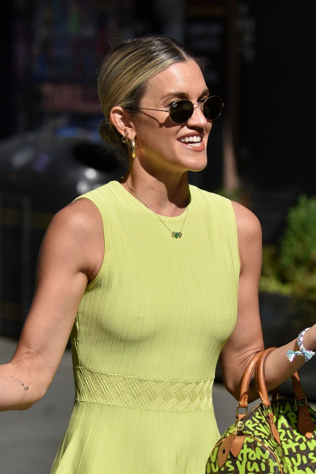 Ashley Roberts Shows Off Her Legs and Tits in Ted Baker Dress (45 Photos)