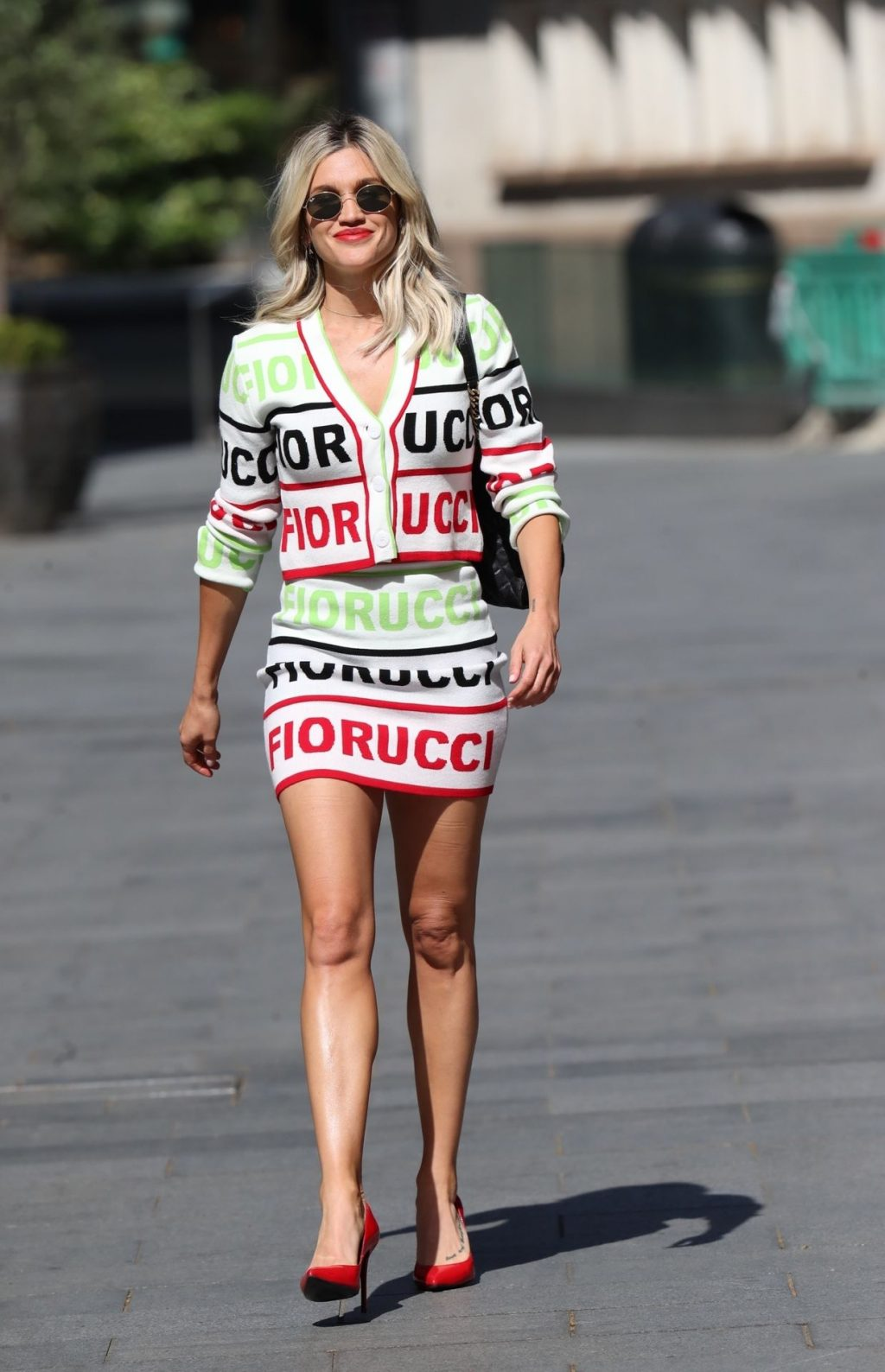 Sexy Ashley Roberts Leaves the Global Studios (22 Photos)
