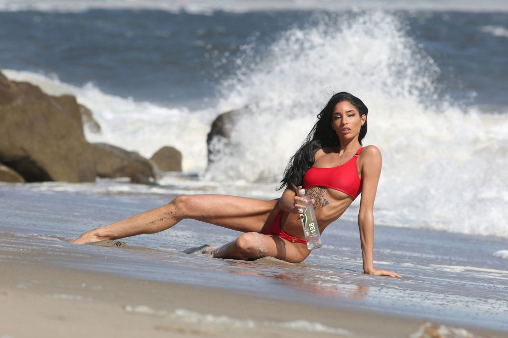 Briana Marie Stuns In a Photoshoot for 138 Water in Malibu (49 Photos)