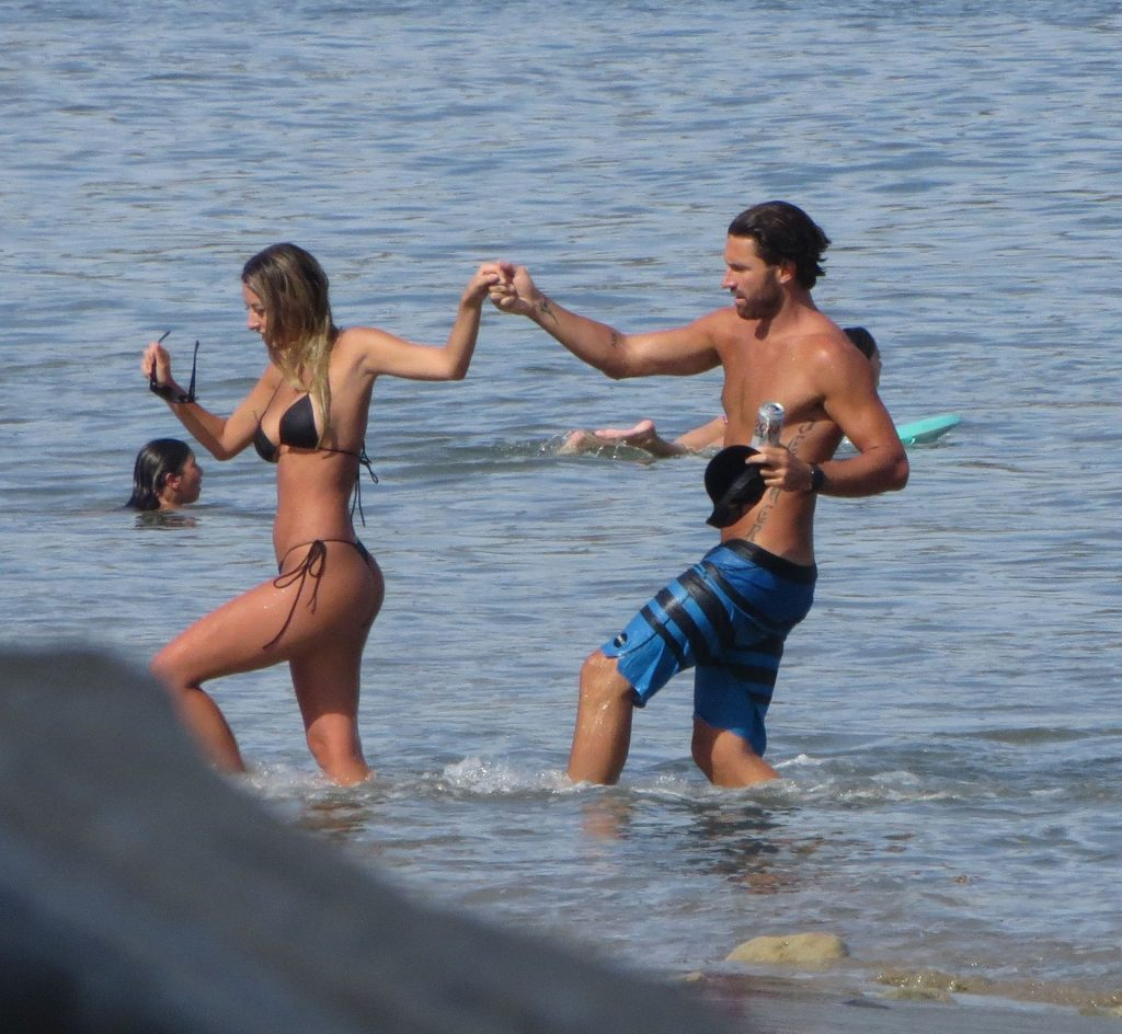 Brody Jenner Enjoys a Day Shirtless With a New Bikini Girl Model (53 Photos)