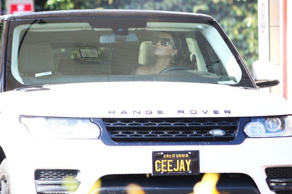 CJ Franco Strips To Her Bikini While Going To The Car Wash In Santa Monica (63 Photos)