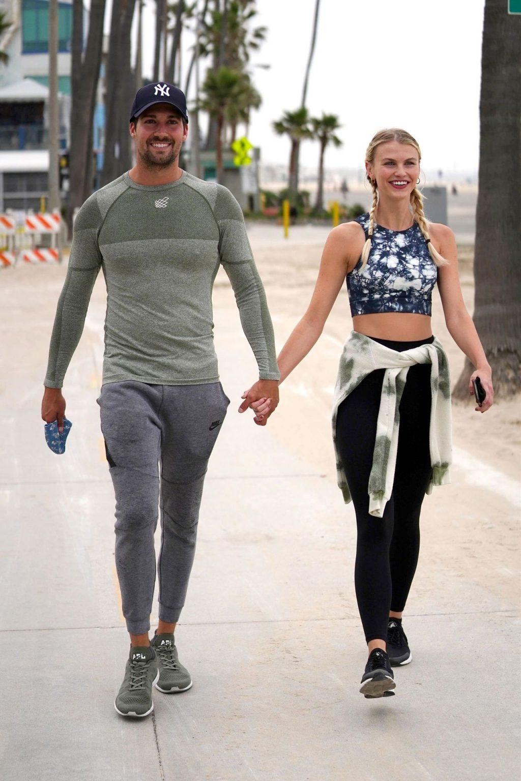 James Maslow & Caitlin Spears Share a Kiss After a Run (38 Photos)