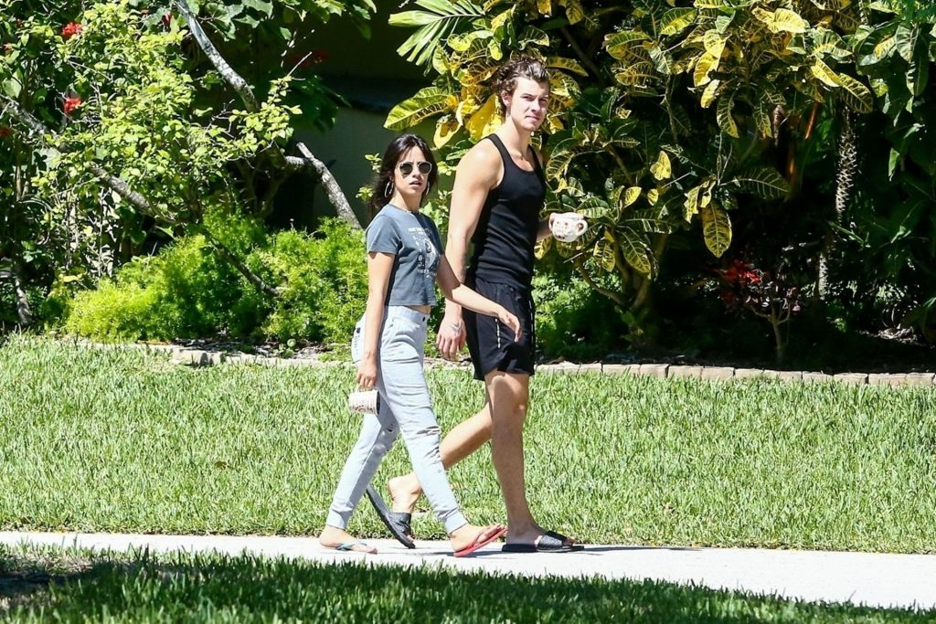 Camila Cabello & Shawn Mendes Take a Relaxing Slow Stroll in Coral Gables (59 Photos)