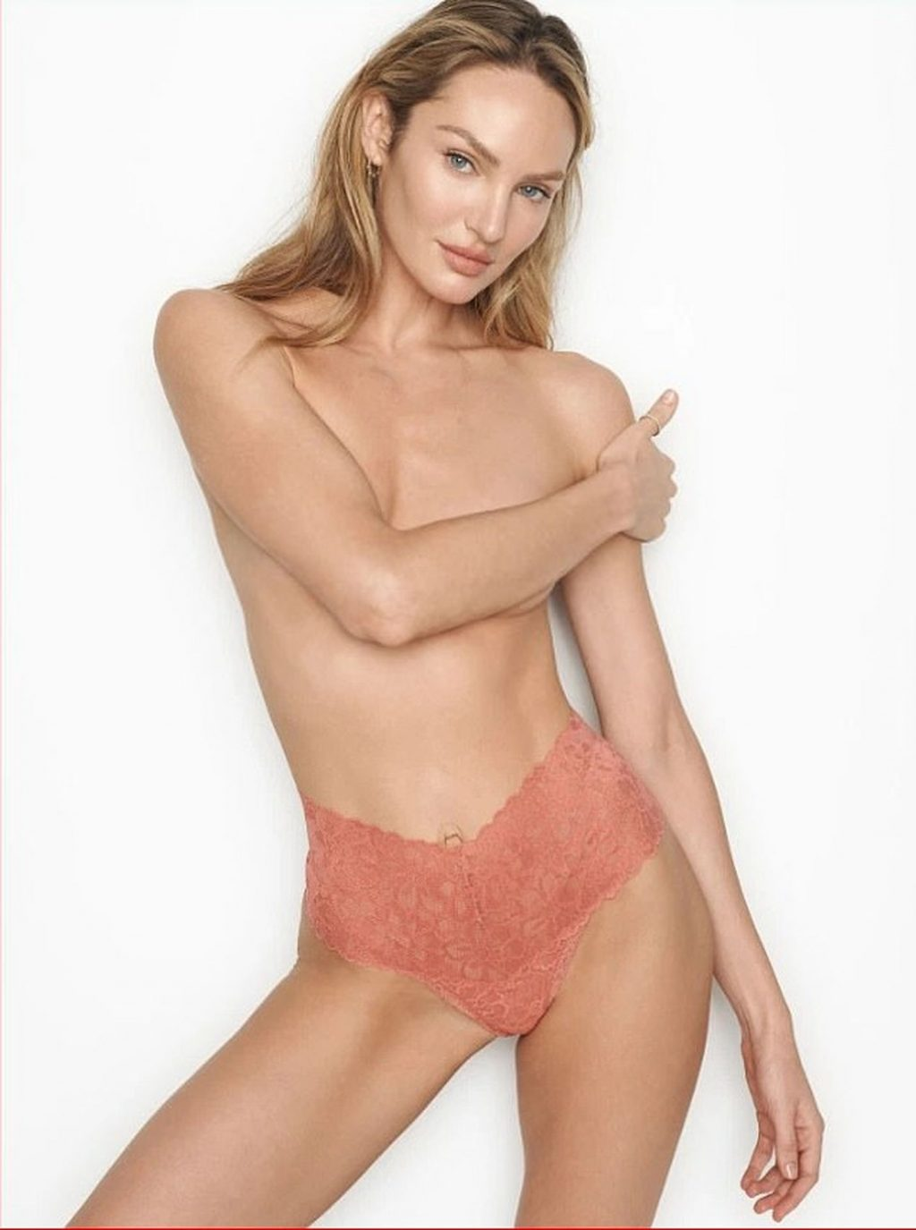 Candice Swanepoel Stuns in New Victoria's Secret Lingerie Campaign (7 Photos)