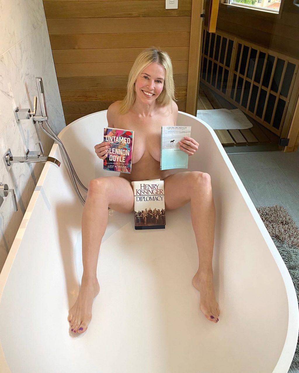 Chelsea Handler Hot (3 Photos)