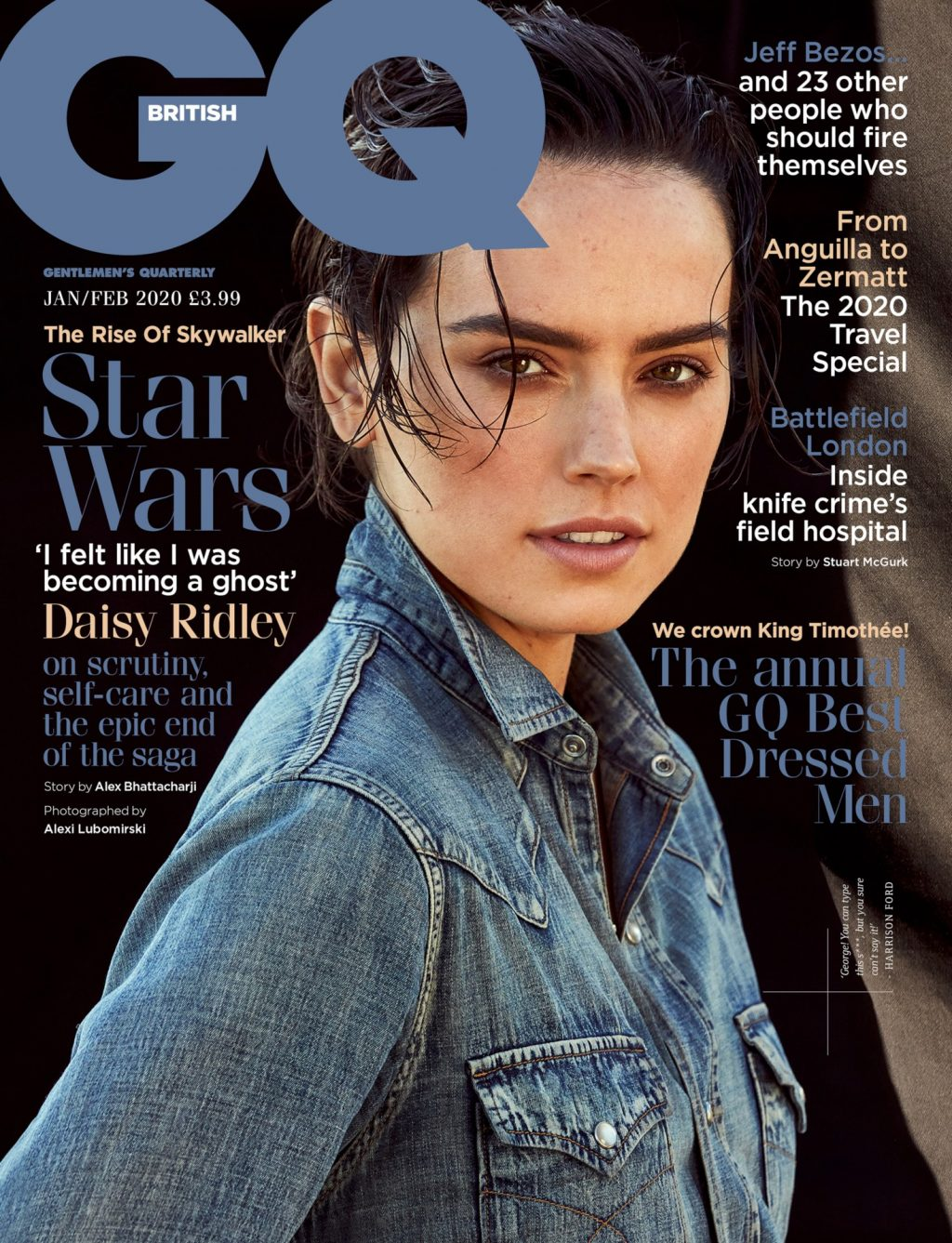 Daisy Ridley Sexy – GQ UK (10 Photos)