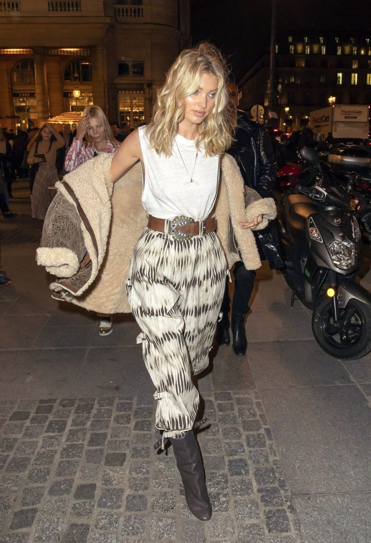 Elsa Hosk Flaunts Her Tits in Paris (54 Photos)