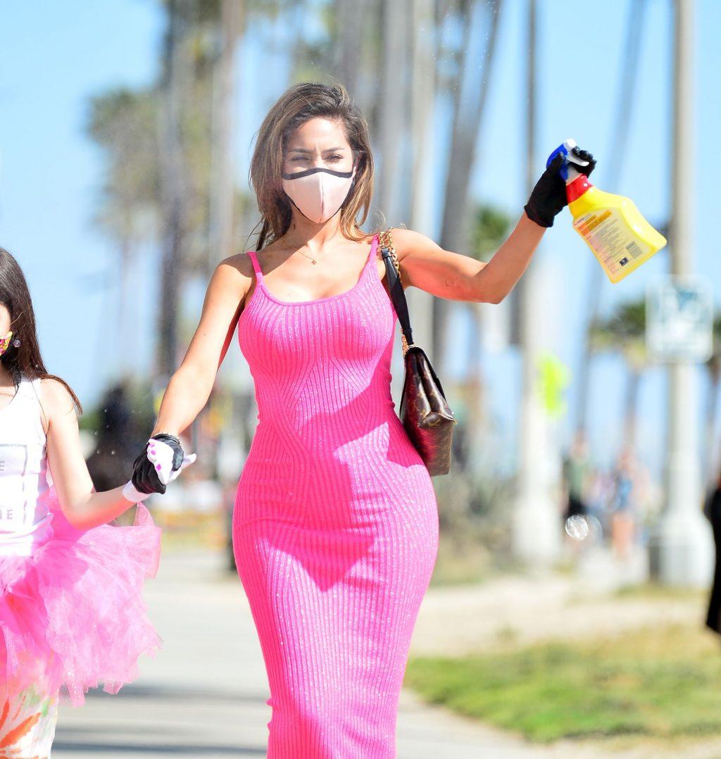 Farrah Abraham Shows Off Her Curves at Venice Beach (27 Photos)