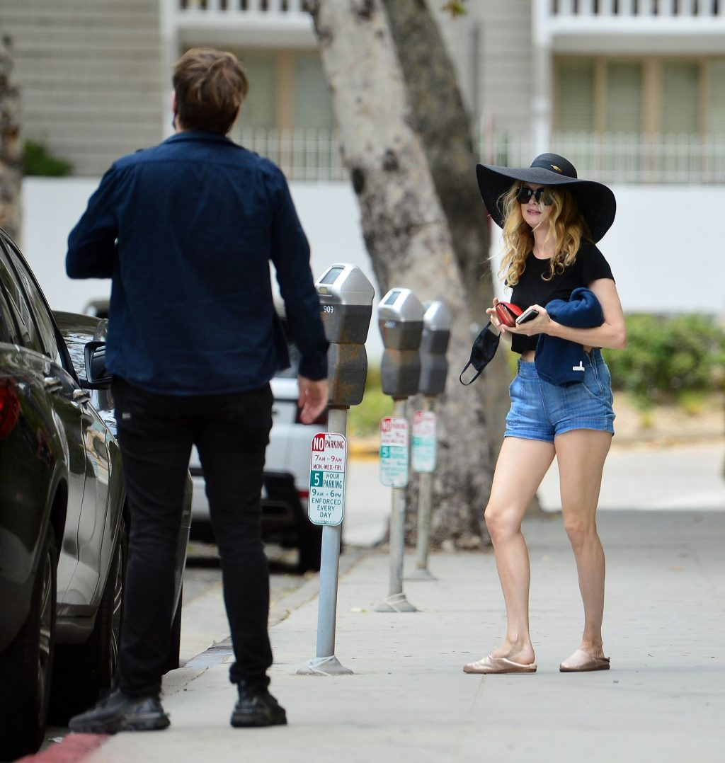 Heather Graham is Pictured Out with a Mystery Man in Los Angeles (30 Photos)