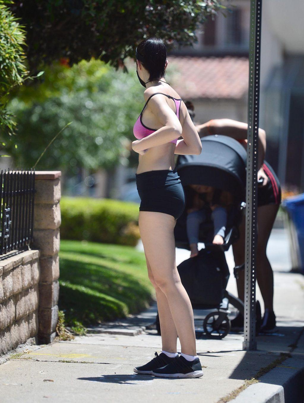Jayde Nicole Enjoys a Hike in the Hollywood Hills (19 Photos)
