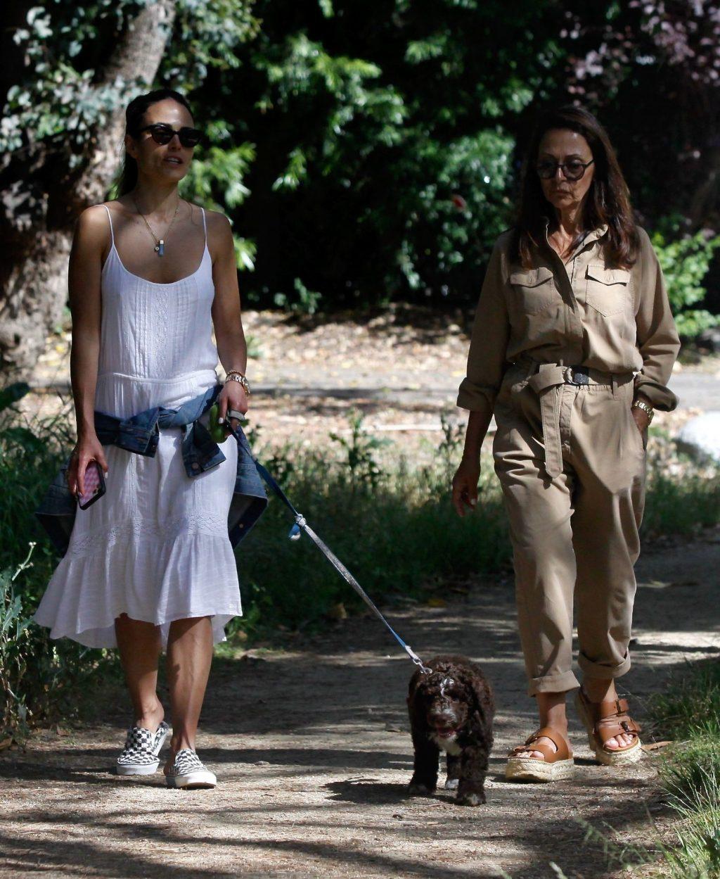 Jordana Brewster Enjoys a Day with Her Puppy (13 Photos)