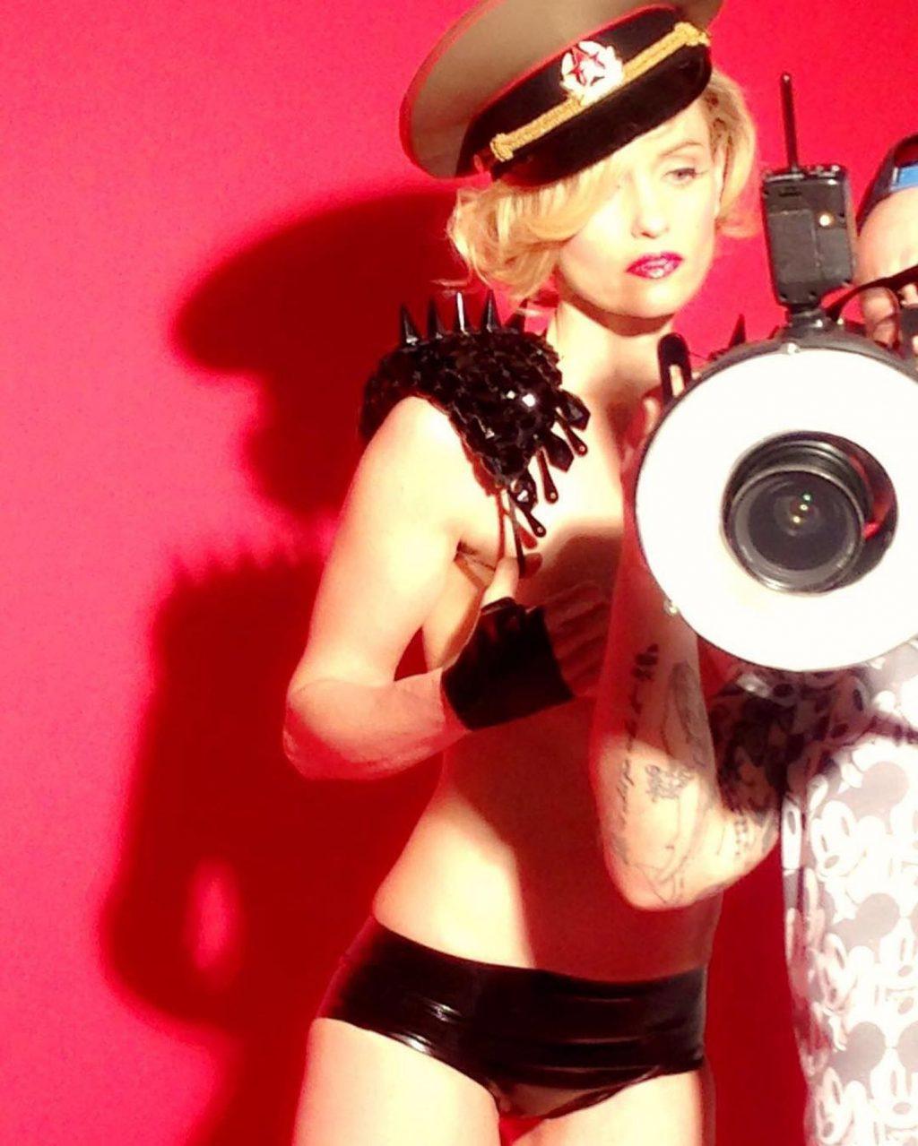 Justine Mattera Nude – Playboy Italia (8 Photos)