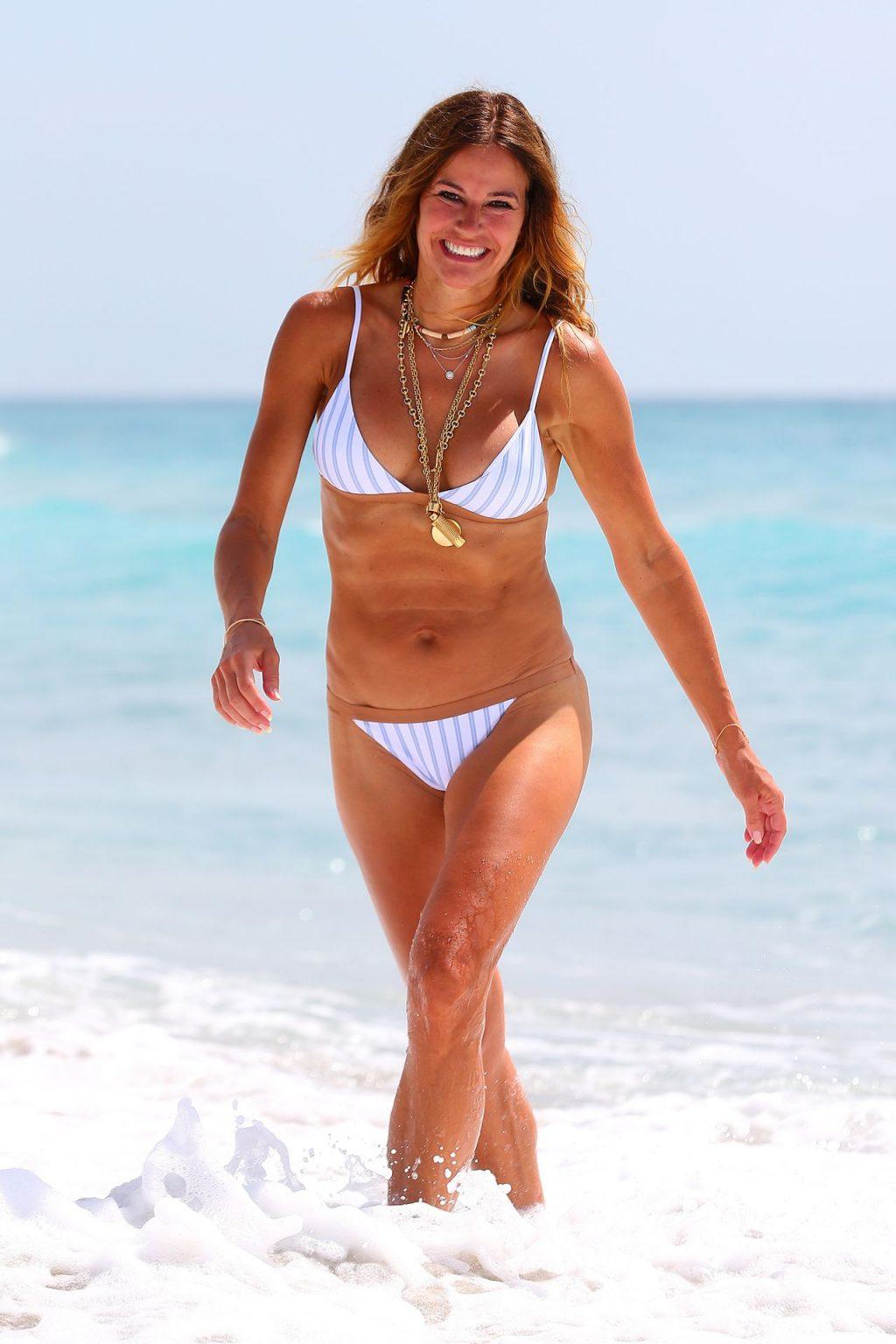 Kelly Bensimon Shows Off Her Bikini Fit Body on the Beach (34 Photos)