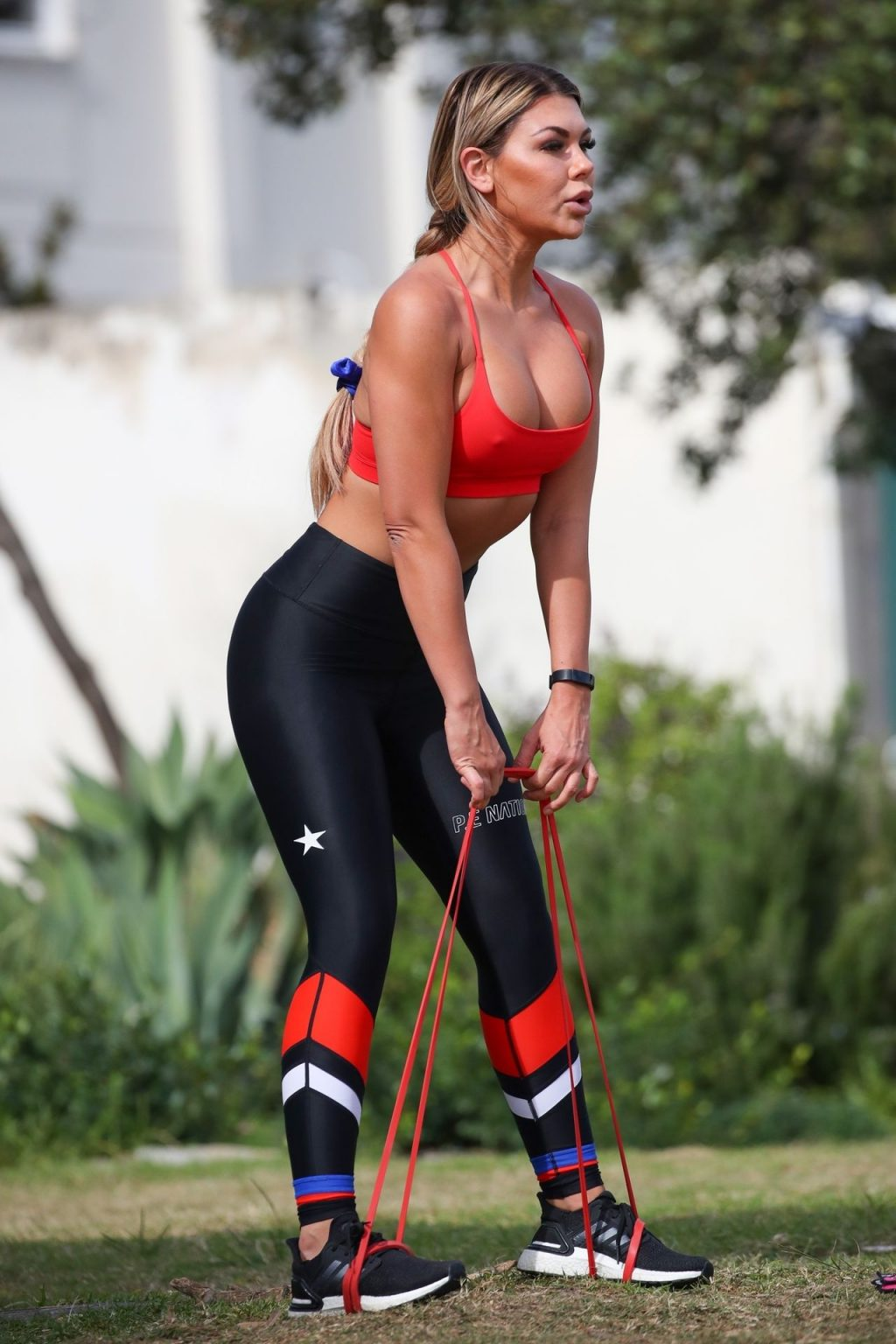 Kirralee Morris Was Pictured Working Out in a Park in North Bondi (82 Photos)
