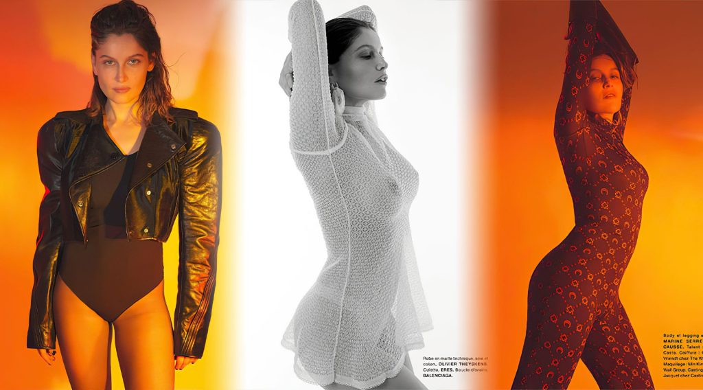 Laetitia Casta See-Through & Sexy – Numéro (15 Photos)