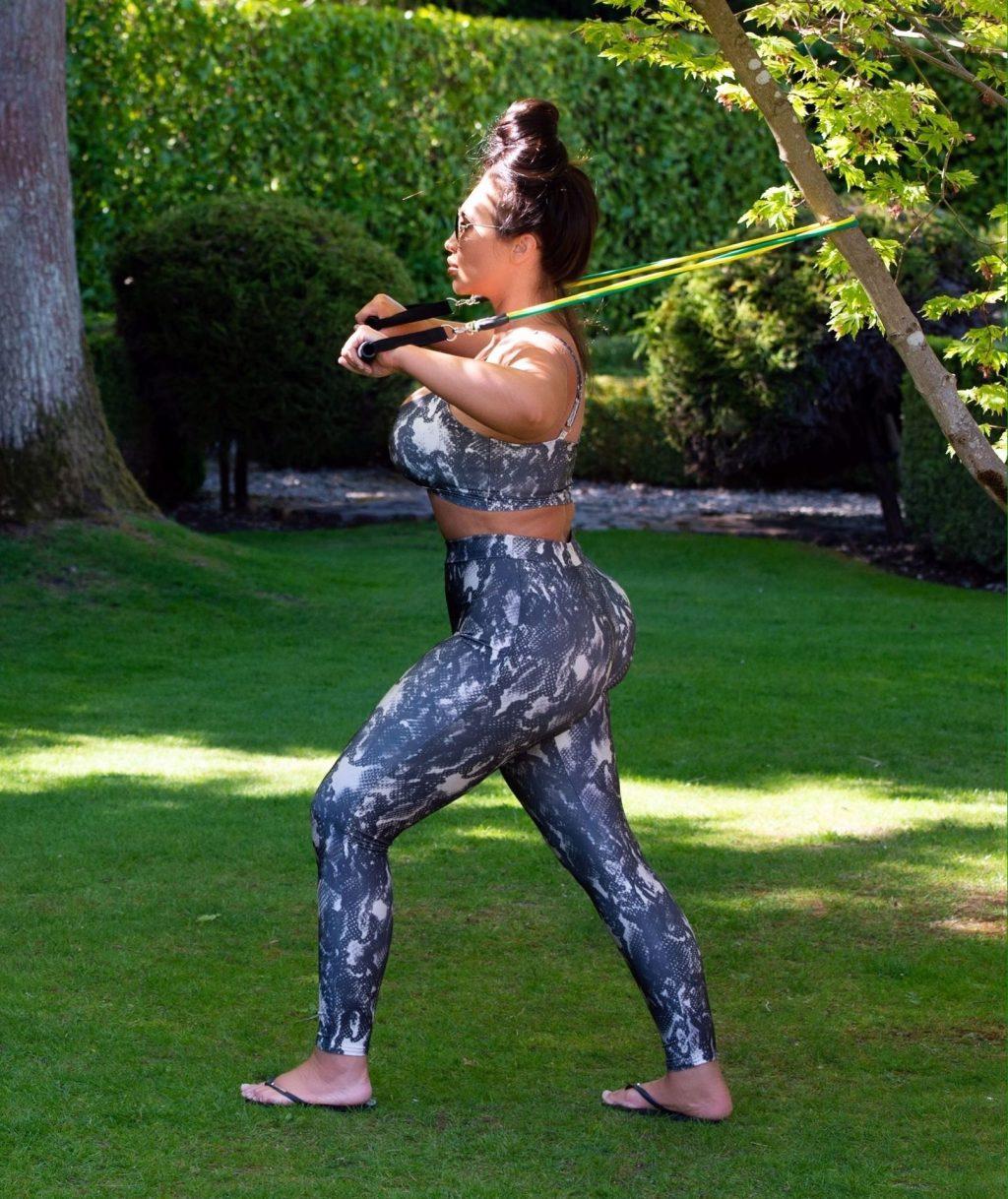 Lauren Goodger Is Seen Having an Early Morning Workout in Essex (16 Photos)