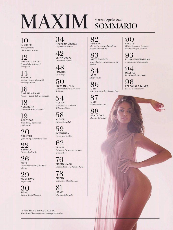 Madalina Diana Ghenea Sexy – Maxim (12 Photos)