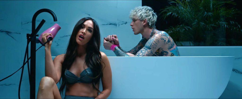 Megan Fox & Machine Gun Kelly Steam Up the Screen in His New Music Video Bloody Valentine (40 Pics + Video)