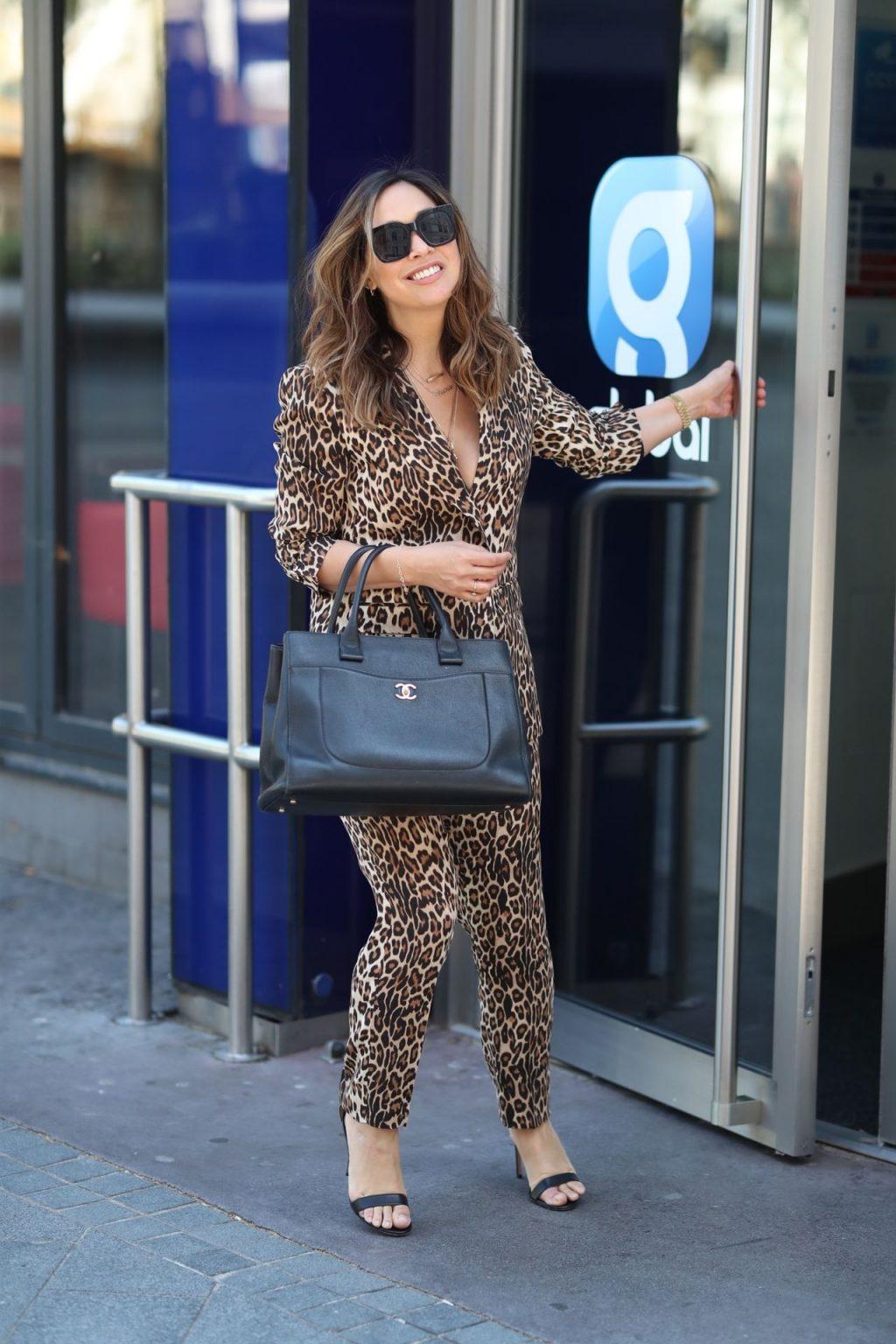 Sexy Singer Myleene Klass Is Pictured Arriving at the Global Studios (16 Photos)